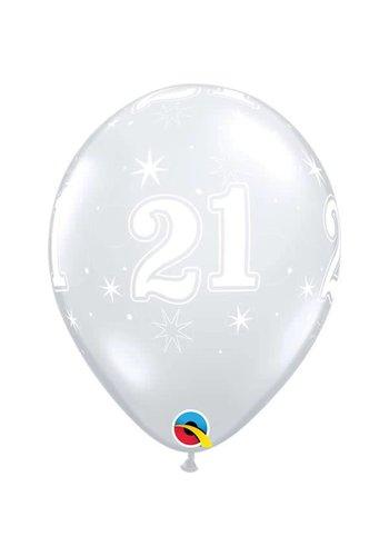 """11"""" Doorzichtig 21 jaar (28cm)"""
