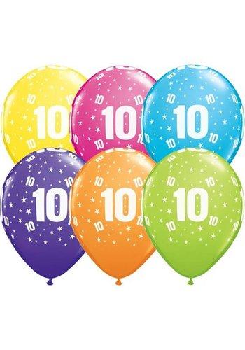 """11"""" Stars A-round 10 jaar (28cm)"""