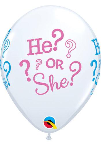 "11"" He or She (28cm)"