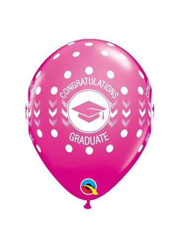 "11"" Graduate Pink (28cm)"