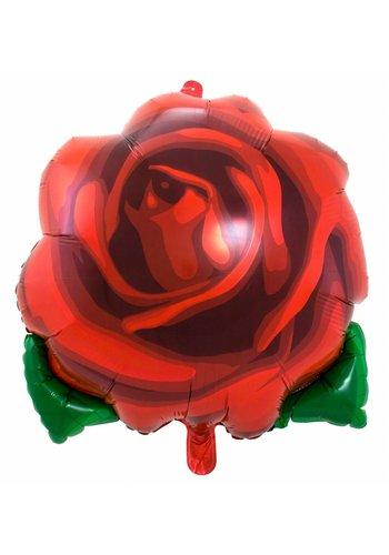 Folieballon Rose - 60x65cm