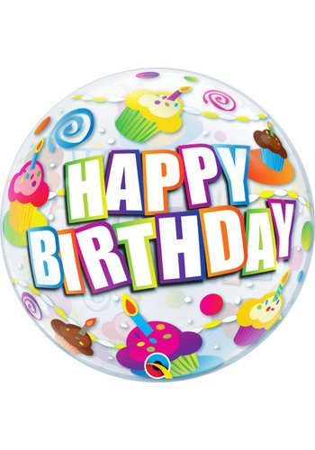 Bubble Birthday Cupcakes - 55cm