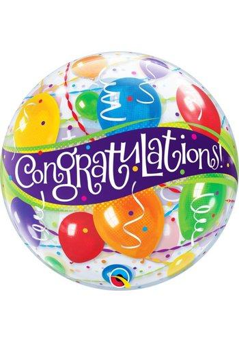 Bubble Congratulations - 55cm
