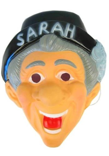 Masker Sarah met hoedje