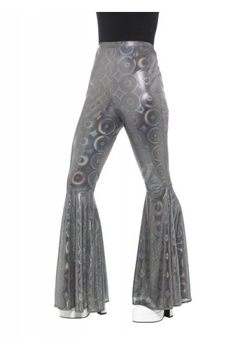 Flared Trousers Zilver