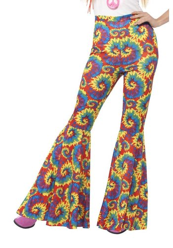 Flared Trousers Multi Color