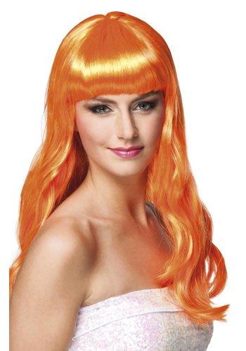 Pruik Chique Oranje