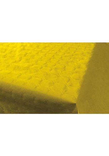 Damast Tafelkleed Geel 8x118cm