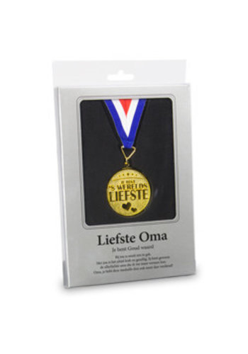 Gouden Medaille - Liefste Oma
