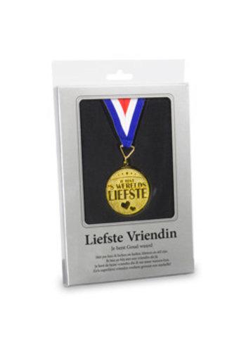 Gouden Medaille - Liefste Vriendin