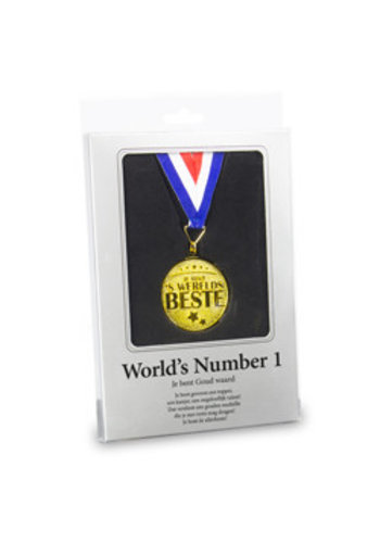 Gouden Medaille - World's number 1