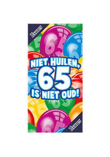 Tissuebox - Niet huilen, 65 is niet oud