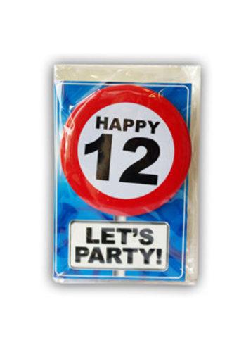 Happy Age Kaart - 12 Jaar