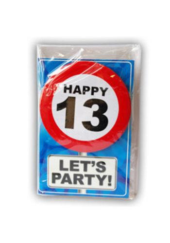 Happy Age Kaart - 13 Jaar