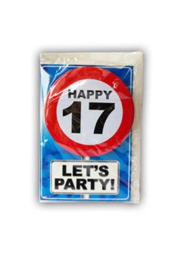 Happy Age Kaart - 17 Jaar