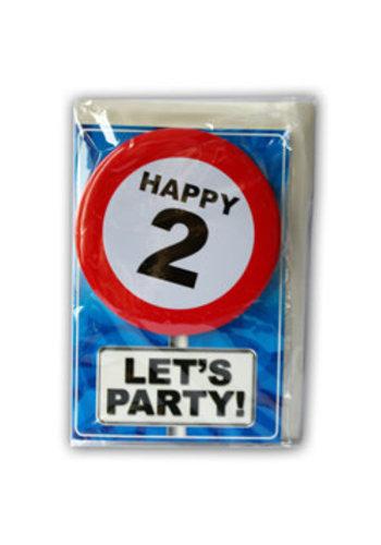 Happy Age Kaart - 2 Jaar