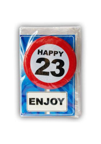 Happy Age Kaart - 23 Jaar