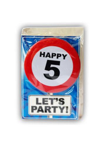 Happy Age Kaart - 5 Jaar