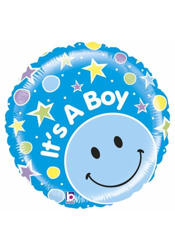 Folieballon Mighty It's a Boy - 50cm