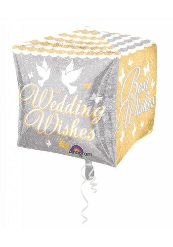 Cubez - Wedding Wishes - 38cm
