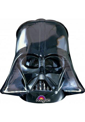 Folieballon Shape Darth Vader - 63x63cm