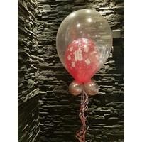thumb-Cadeau Ballon met Glitter-1