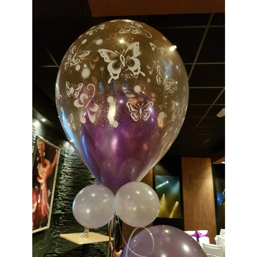 Cadeau Ballon met Glitter-3