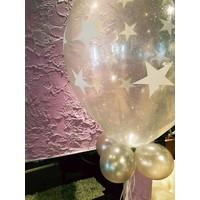 thumb-Cadeau Ballon met Glitter-5