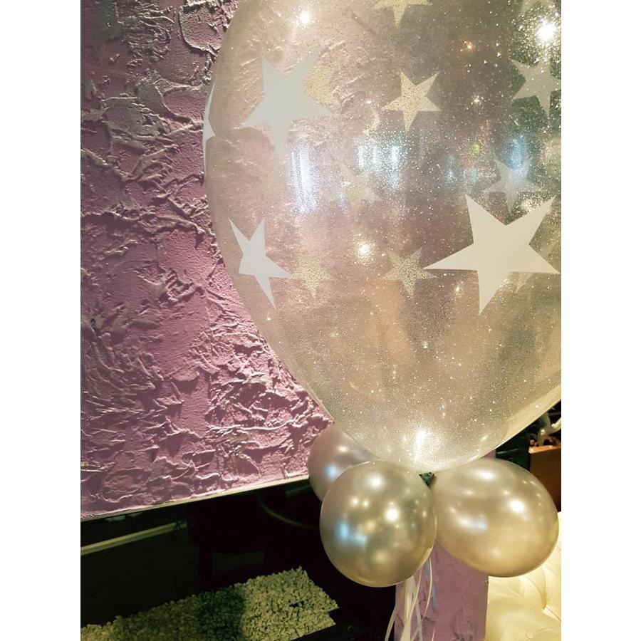 Cadeau Ballon met Glitter-5