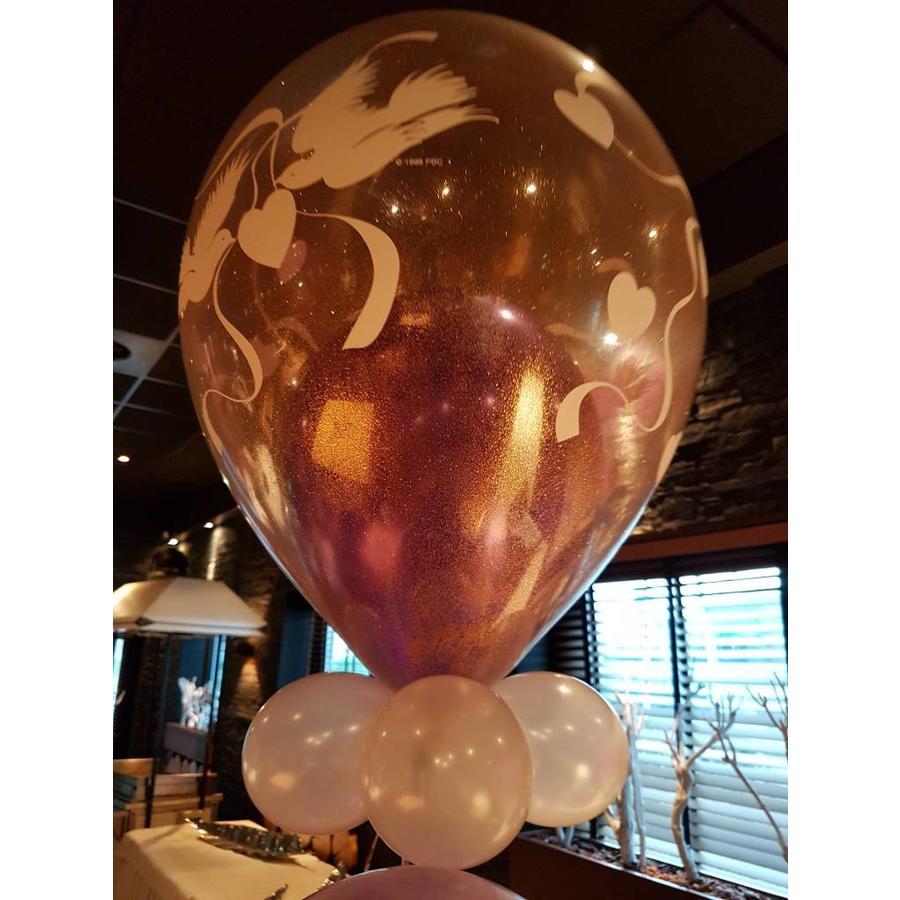Cadeau Ballon met Glitter-4