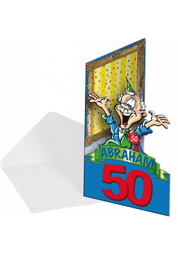 Abraham uitnodigingen - 8 stuks