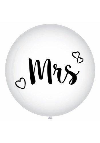 Mega Ballon - Mrs - 90cm