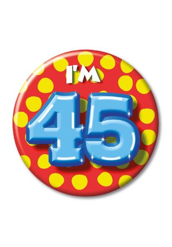 Button - I'm 45