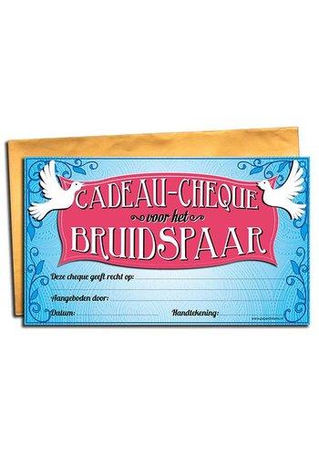 Gift Cheque - Bruidspaar