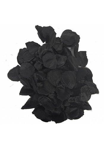 Rozenblaadjes Zwart - 144 stuks