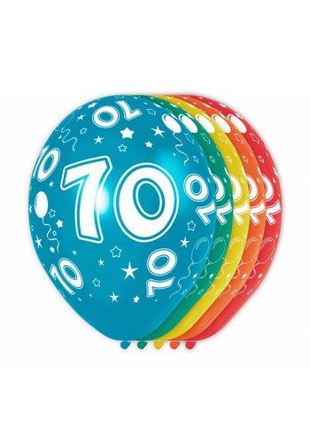 Ballonnen 70 - 30cm - 5 stuks