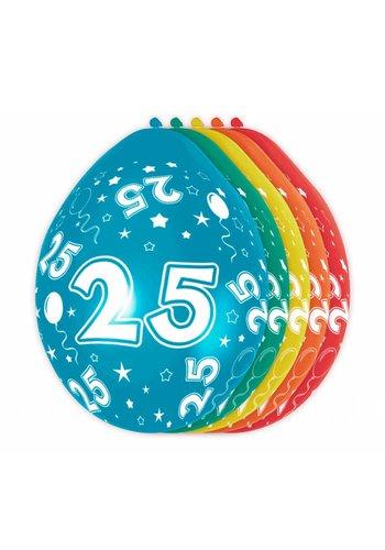 Ballonnen 25 - 30cm - 5 stuks