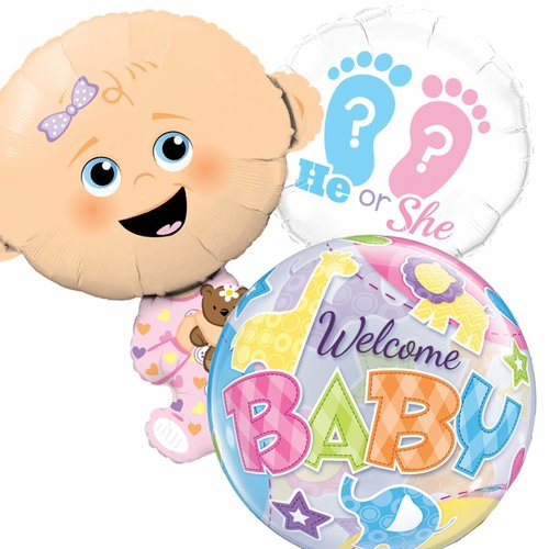 Geboorte ballonnen