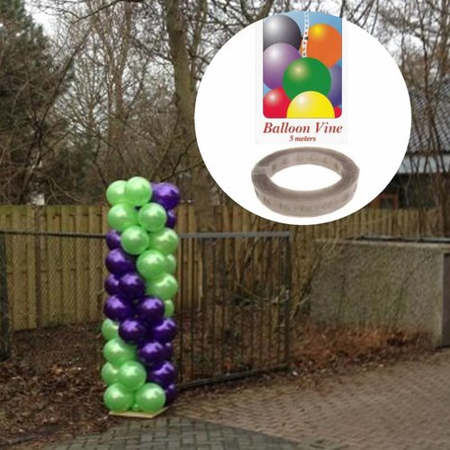 Ballonpilaren zelf maken