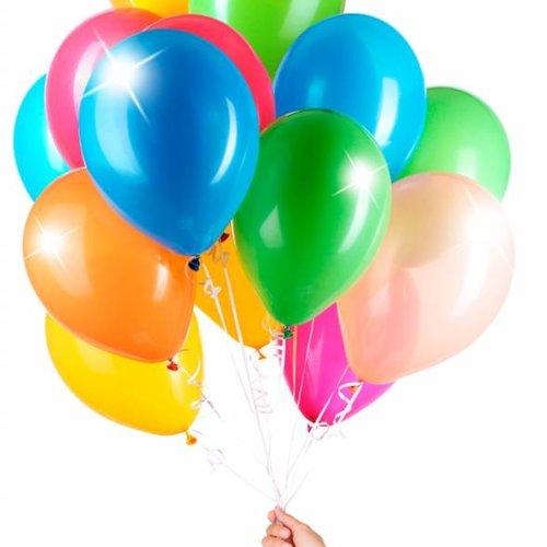 Meerkleurige ballonnen