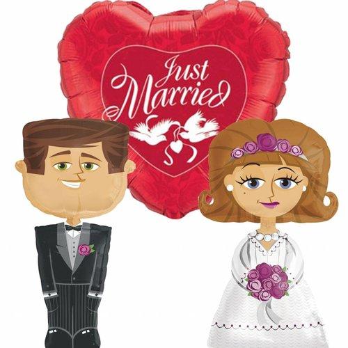 Bruiloft ballonnen