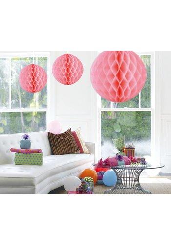 Honeycomb Maxi Licht Roze - 50cm