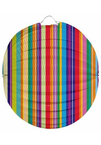 Bol Lampion Stripes 22cm