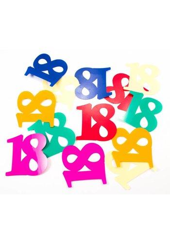 Tafelconfetti XL 18 - 8,5x6,5cm