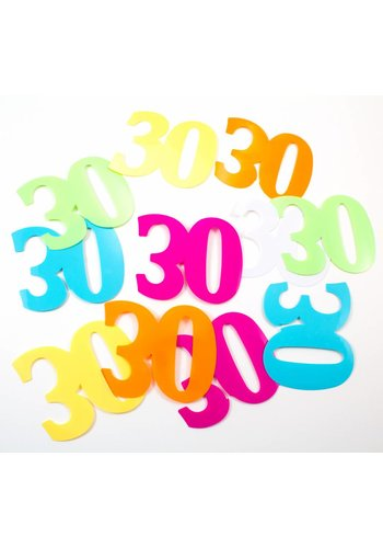 Tafelconfetti XL 30 - 8,5x6,5cm