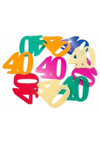 Tafelconfetti XL 40 - 8,5x6,5cm