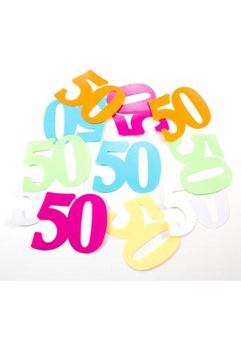 Tafelconfetti XL 50 - 8,5x6,5cm