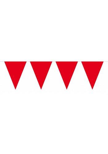Vlaggenlijn Mini Rood - 3 meter