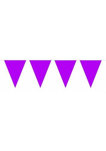 Vlaggenlijn Paars - 10 meter