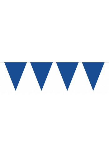 Vlaggenlijn XL Donker Blauw - 10 meter
